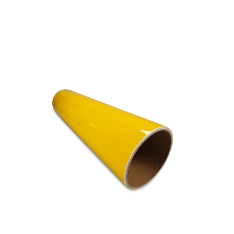 Folie Avery 500 GELB ab 100cm Länge/32cm Breite