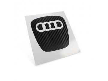 Ovale Carbon Lenkrad Maske für Audi Fahrzeuge