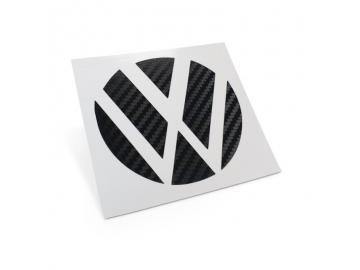 Carbon Dekor Heck Emblem Ecken für Vw Fahrzeuge
